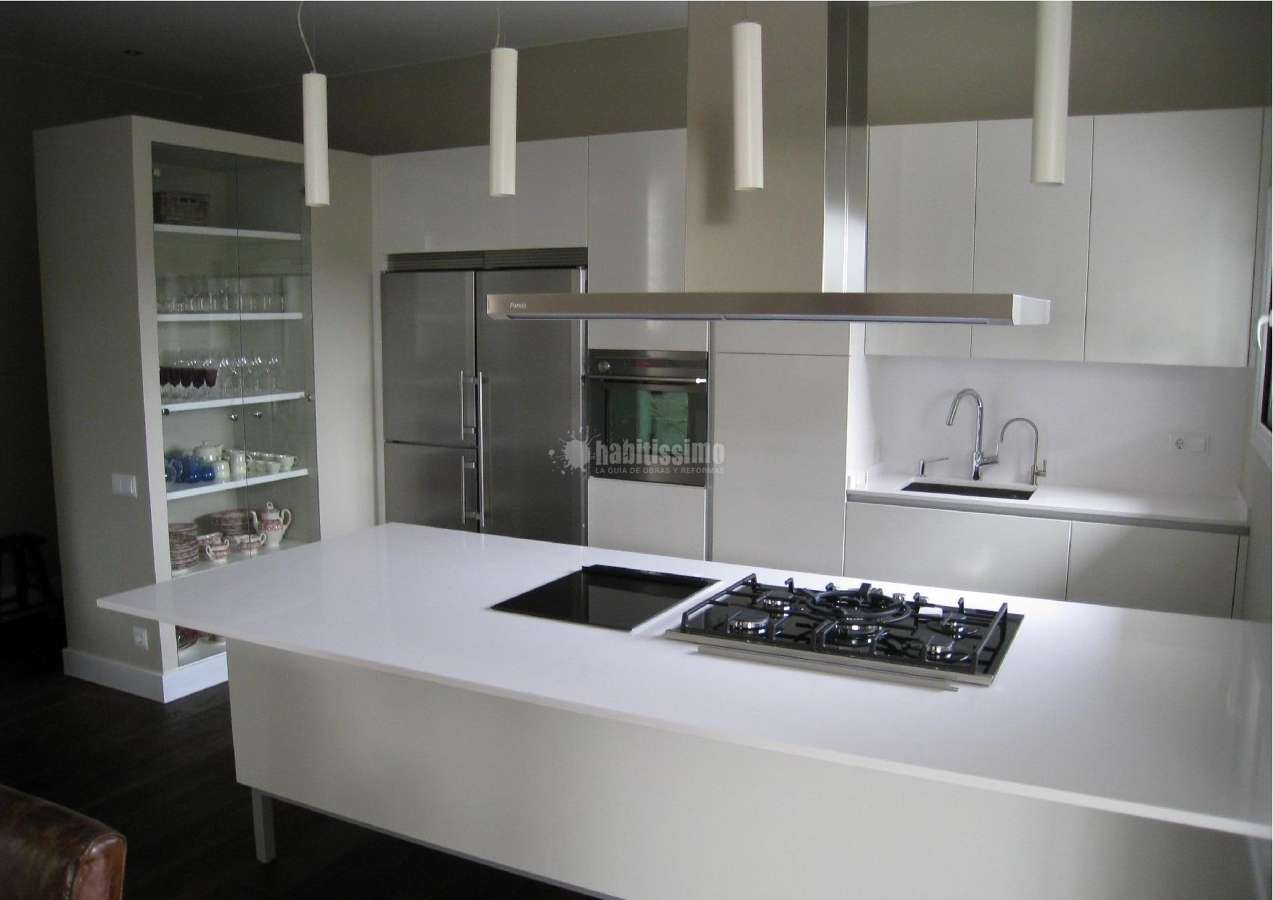 Foto reformas cocinas muebles cocina alicatados de for Muebles de cocina zamora
