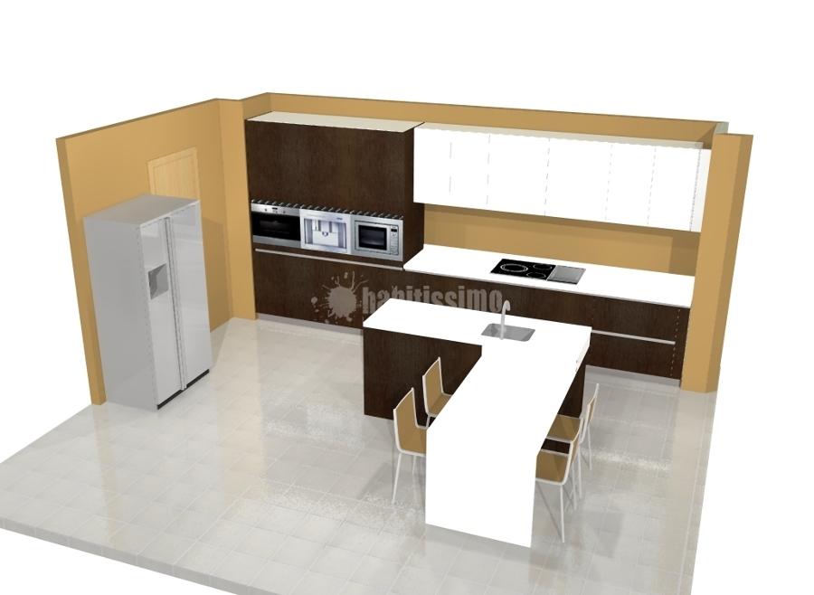 Foto muebles cocina armarios cocinas ba os de estudio v - Muebles cocina tarragona ...