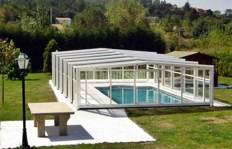 Foto cubiertas para piscinas cubripiscinas de for Piscinas cubiertas salamanca