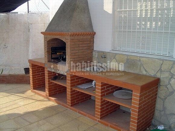 Albañiles, Barbacoas Obra, Muros Ladrillo Visto