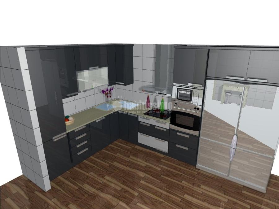 Foto armarios p rgolas muebles cocina de carpinter a for Muebles de cocina zamora
