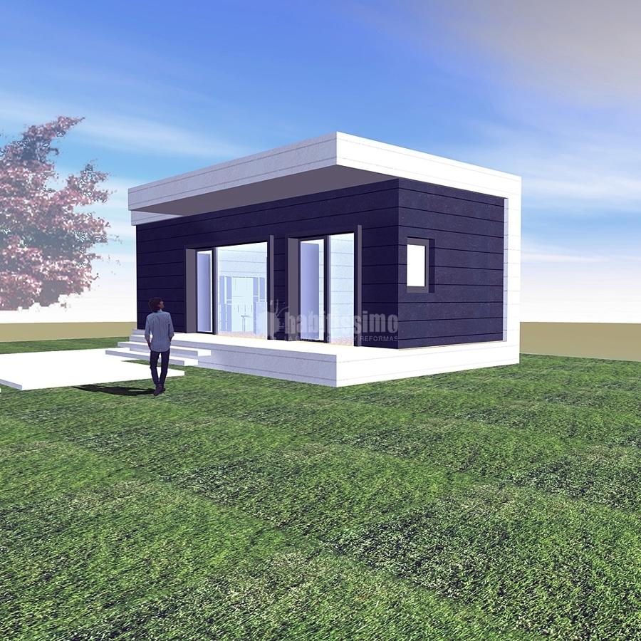 Foto arquitectos casas prefabricadas casas modulares de - Casa prefabricadas modulares ...