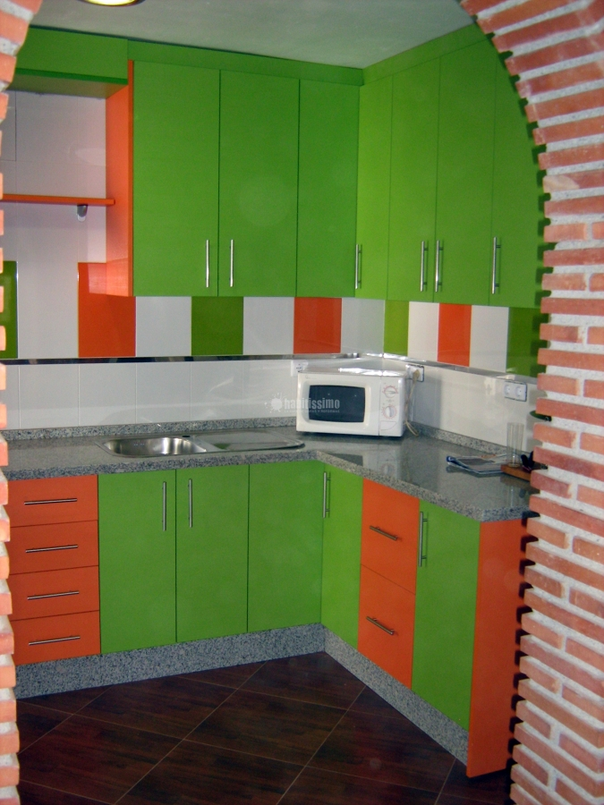 Foto muebles cocina de cocinas a domicilio 94705 for Muebles de cocina zamora