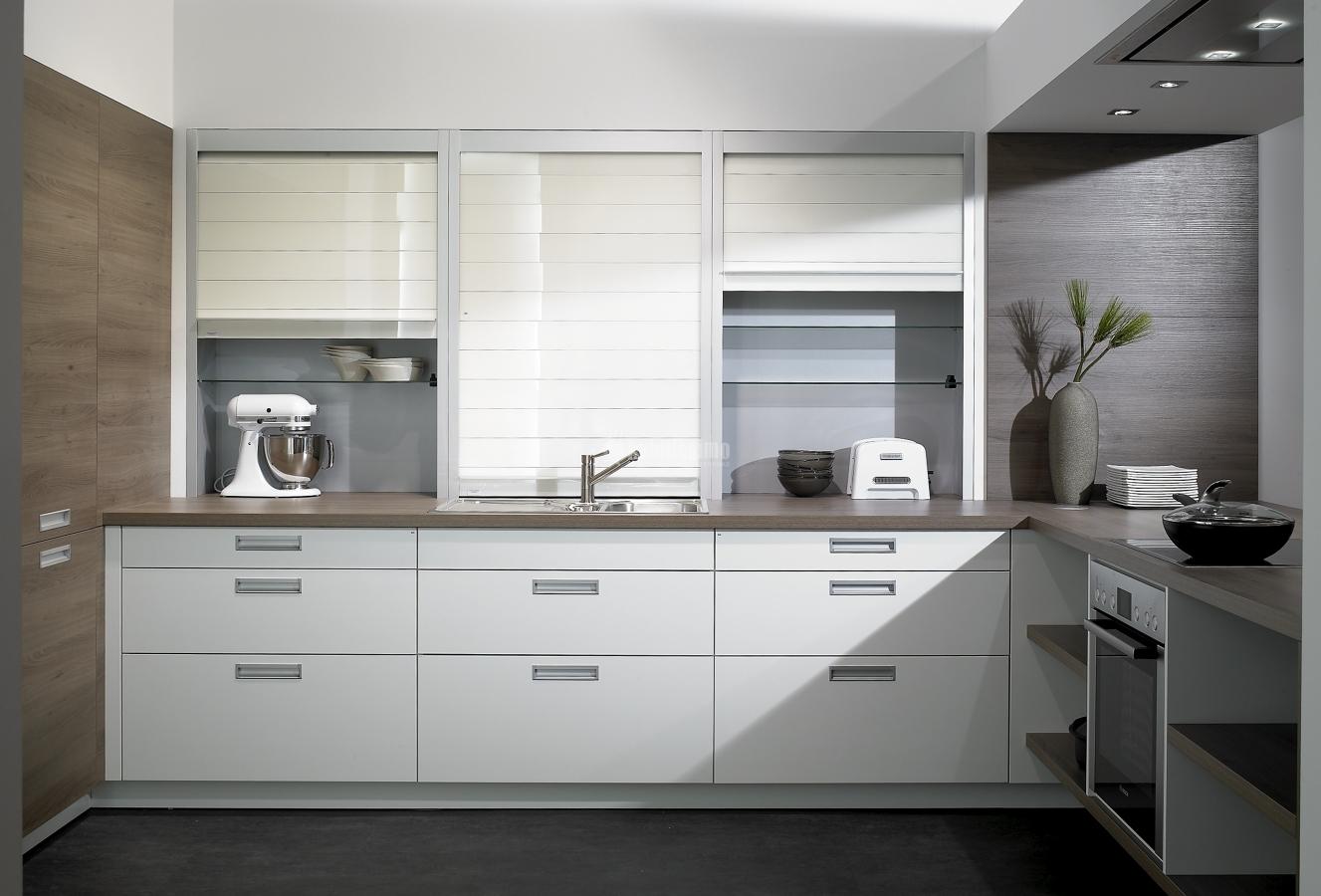 Foto muebles cocina reformas cocinas de k chen confort for Muebles de cocina zamora