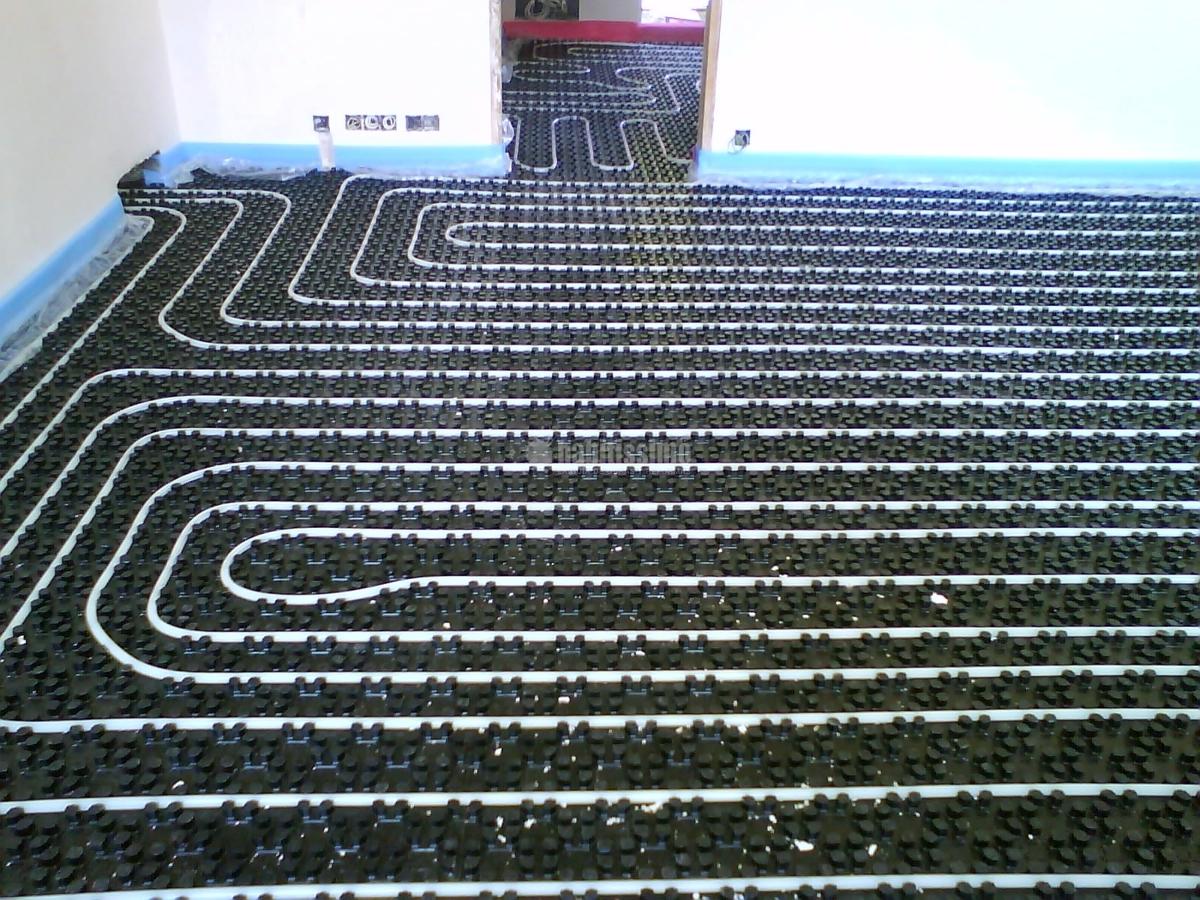 Foto instalacion suelo radiante de naturs gas 93893 - Instalacion suelo radiante ...