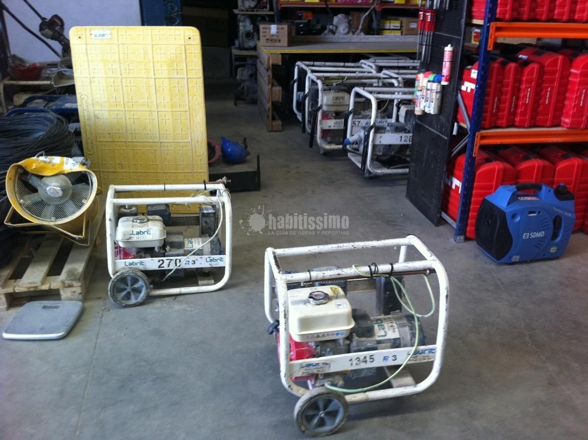 Alquiler Maquinaria, Motores Electricos, Herramientas Equipamiento