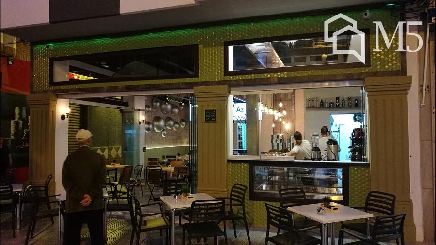 Cafetería proyecto integral diseño y ejecución M5