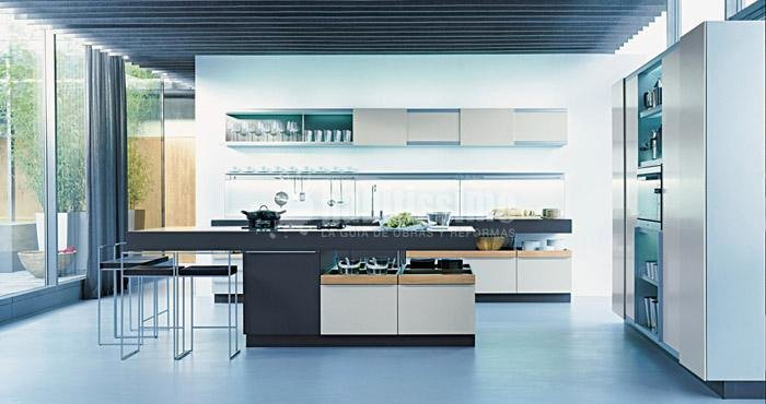 Foto muebles cocina muebles pavimentos revestimientos - Materiales muebles cocina ...