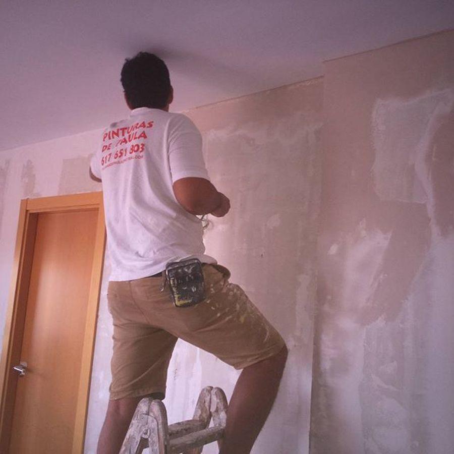 Alisado de paredes con perlita