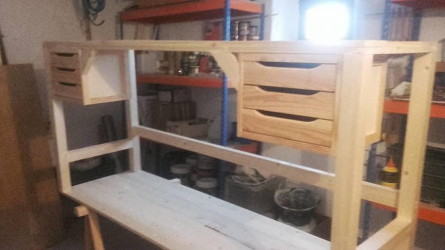 Construcción mesa de taller