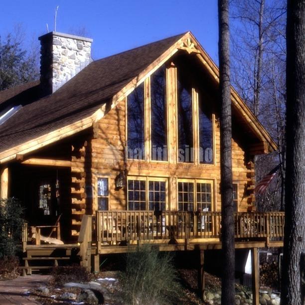 Casa residencial familiar ventanas de madera malaga - Casas prefabricadas malaga ...