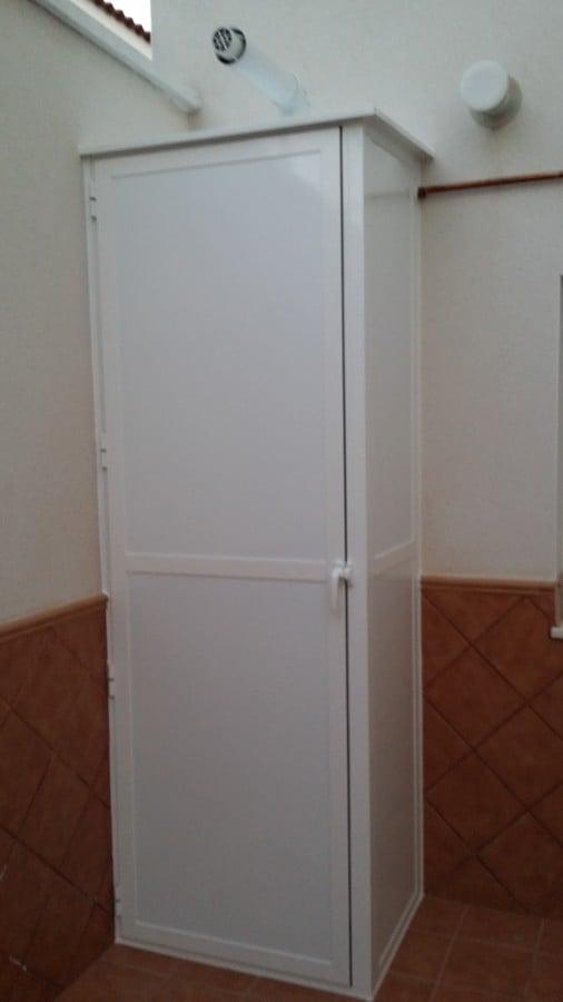 Foto armario de aluminio para caldera de i r s isidro for Kit armario aluminio exterior