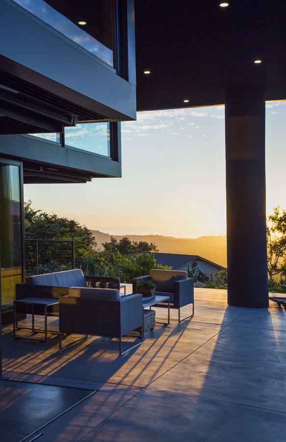 Terraza exterior vivienda privada