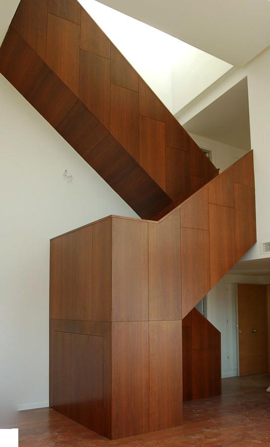 Diseño de escalera interior