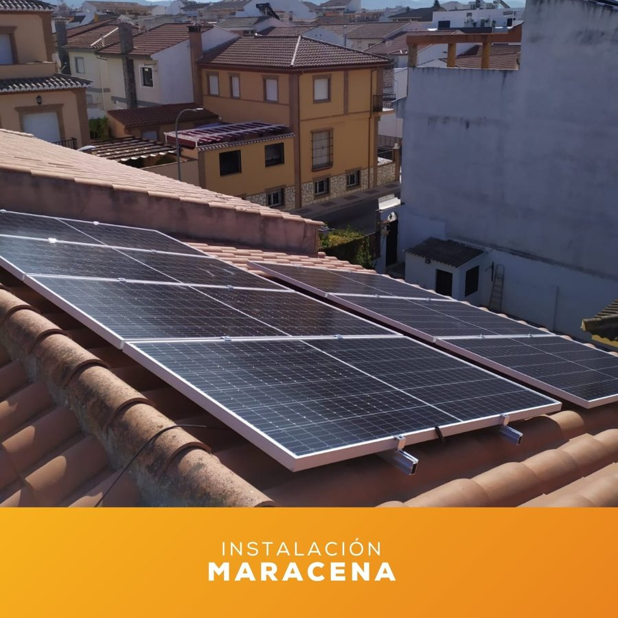 Instalación fotovoltaica Solurgy Renovables en Maracena