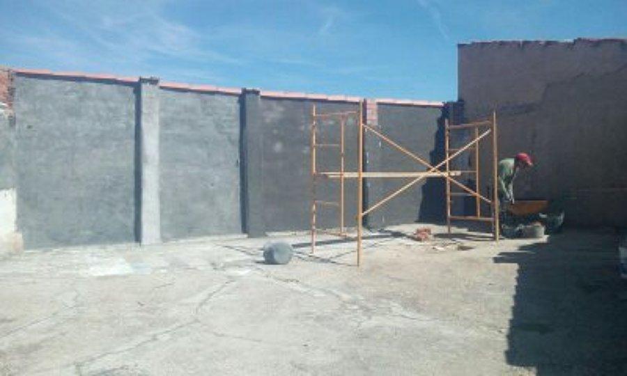 Terminación de muro