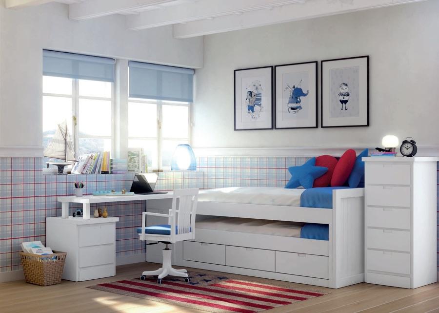 Dormitorio lacado