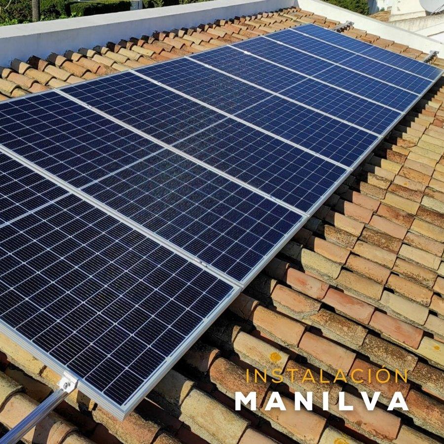 Instalación fotovoltaica Solurgy Renovables en Manilva