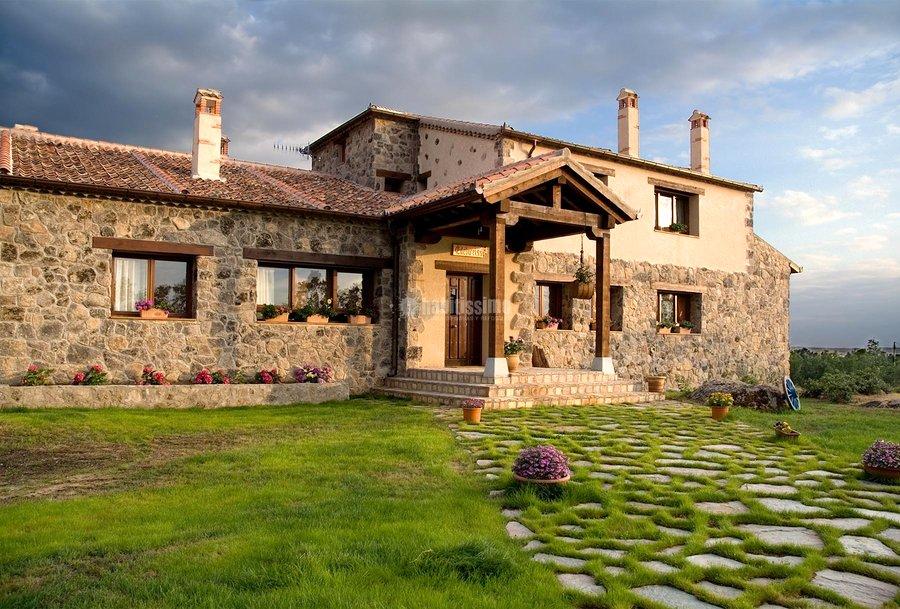Foto restauraci n edificios obra tradicional construcciones reformas de casas de campo 10550 - Rehabilitacion casa rural ...