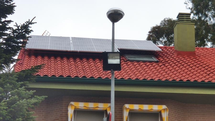instalacion fotovoltaica 2,5 kw
