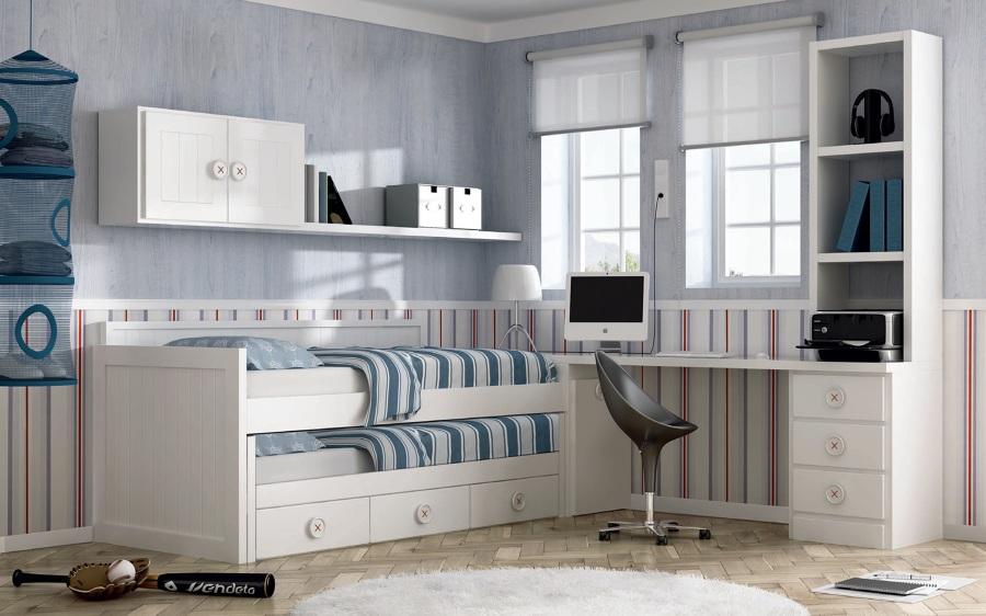 Dormitorio blanco Noel