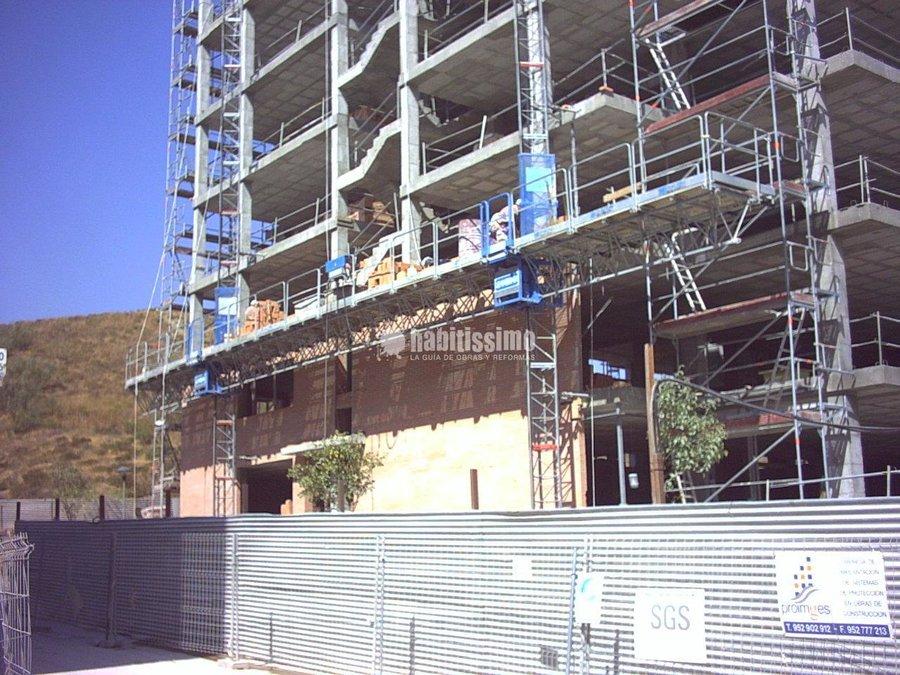 Restauración Edificios, Sistemas Andamios, Andamios Motorizados