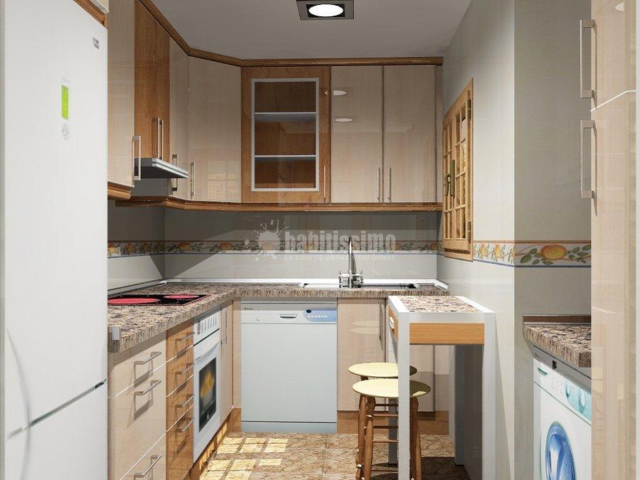 Foto muebles cocina cocinas dise o art culos decoraci n for Muebles de cocina zamora