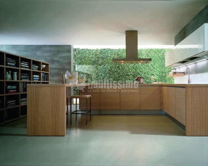 Foto interioristas muebles cocina muebles de gunni for Muebles de cocina juan carlos madrid