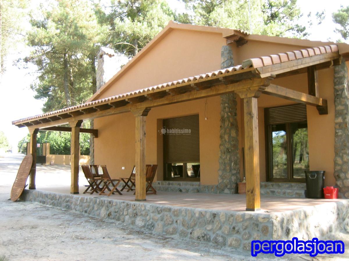 Foto construcci n casas construcciones reformas - Constructores de casas de madera ...