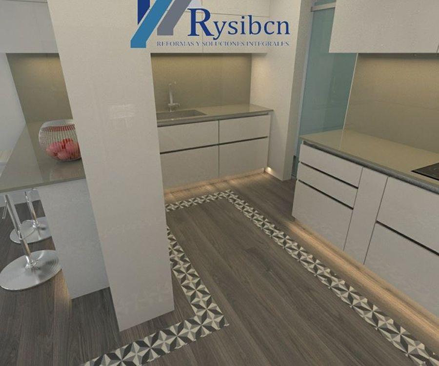 Reforma integral cocina, Visita www.rysibcn.com para mas informacion