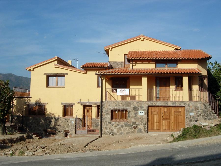 Foto 2 viviendas unifamiliares adosadas de construcci n - Construccion viviendas unifamiliares ...