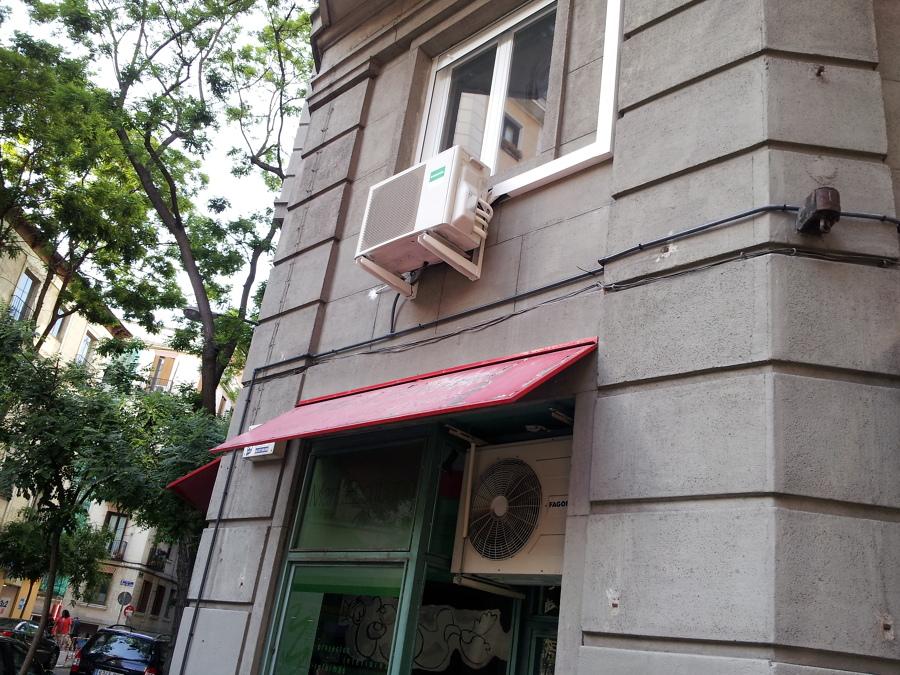 Instalación máquina exterior