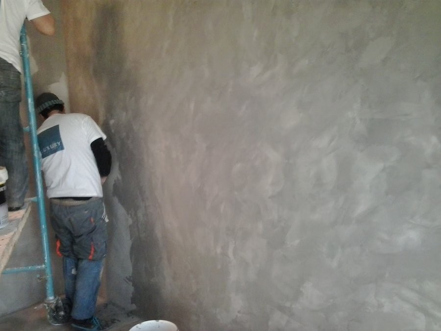 pared microcemento