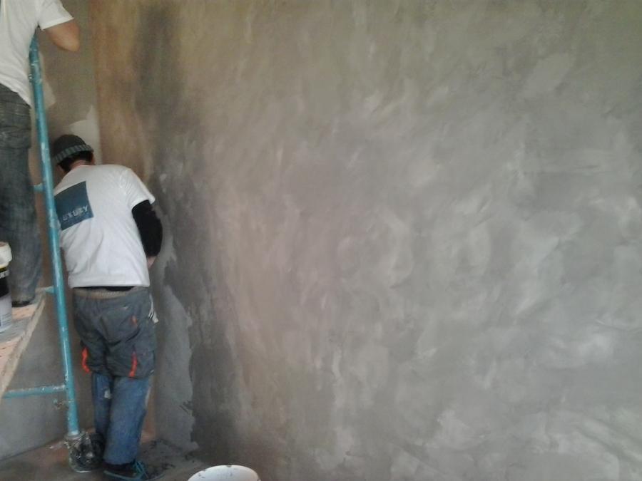 pared microcemento