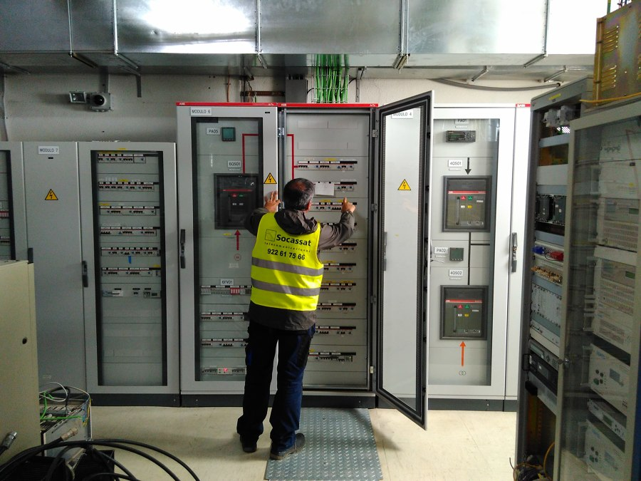Mantenimiento de equipos y sistemas de telecomunicación