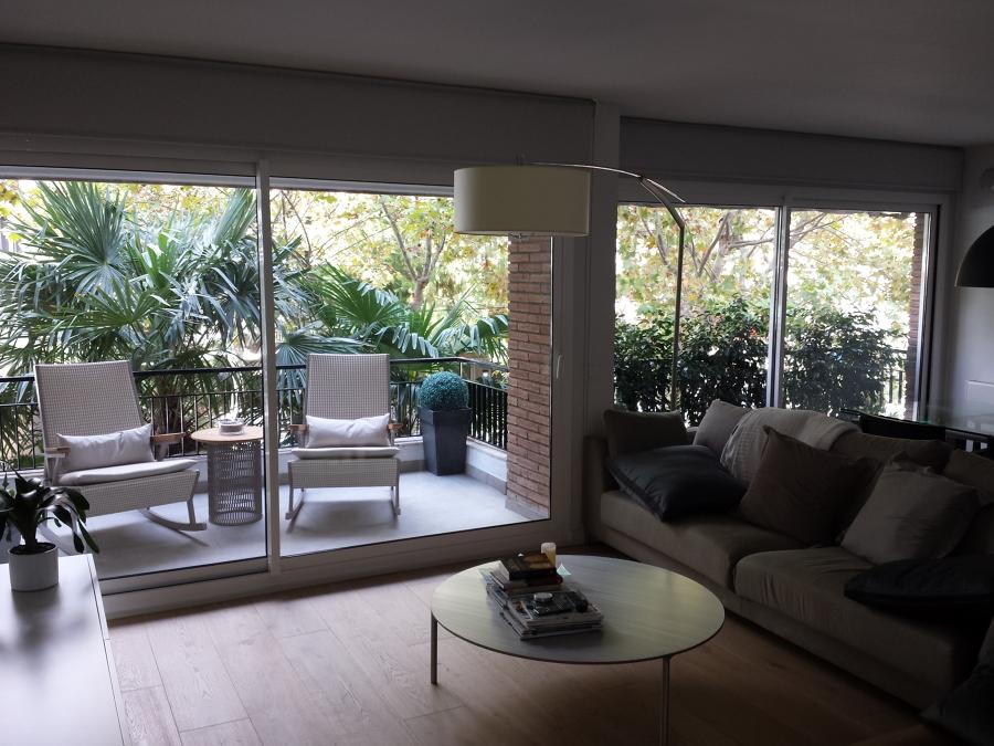 Balconeras correderas de aluminio