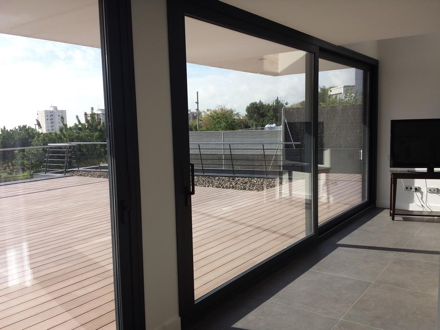 Balconera Elevable de Aluminio