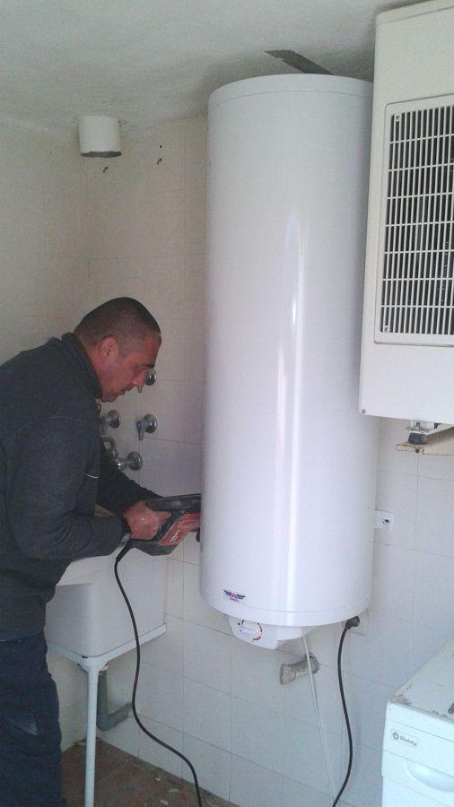 Instalación de termo eléctrico 150 litros