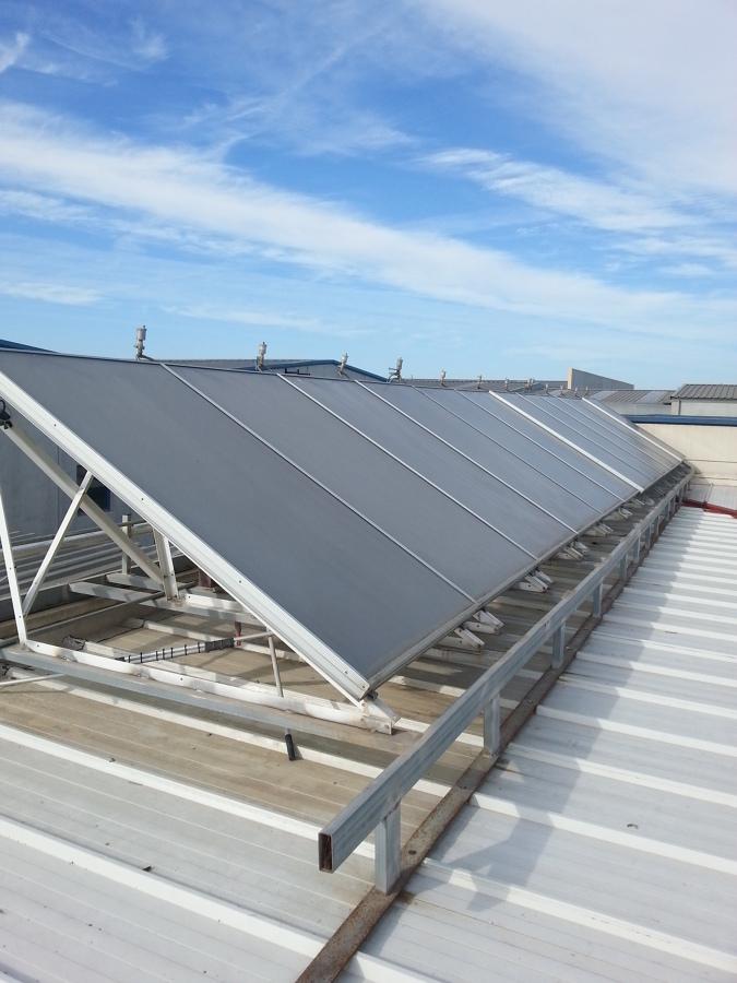 Foto placas solares de ljv muntatges i instal lacions - Placas solares barcelona ...