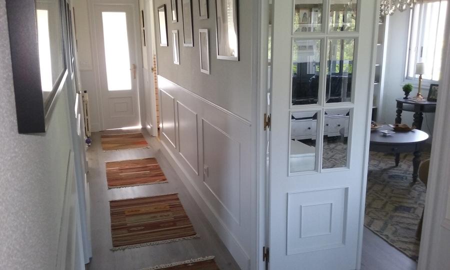 Foto pintado de puertas y zocalo alto de jose 1047272 - Zocalos de madera altos ...