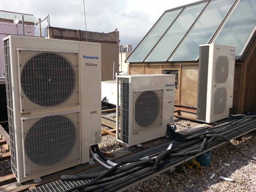 Instalacion aires para oficinas