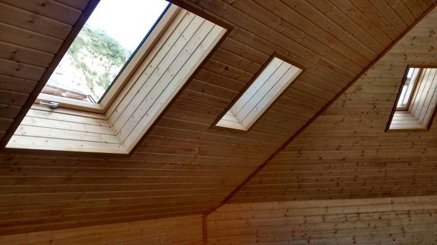 Reforma tejado en Escarrilla (Huesca)