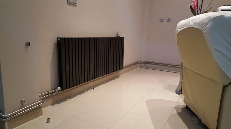 foto instalaci n de radiadores con tuber a vista de