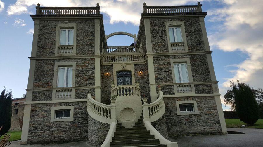 Reforma parcial de castillo de villapedre