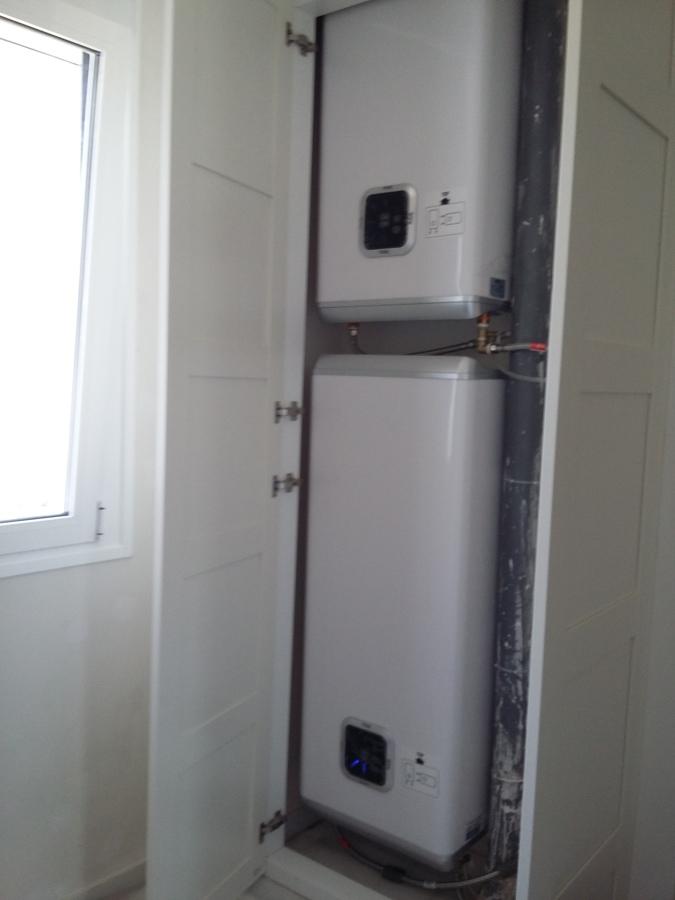 Foto 2 termos electrico en serie fleck duo 50 x 2 40 - Termos de 50 litros ...