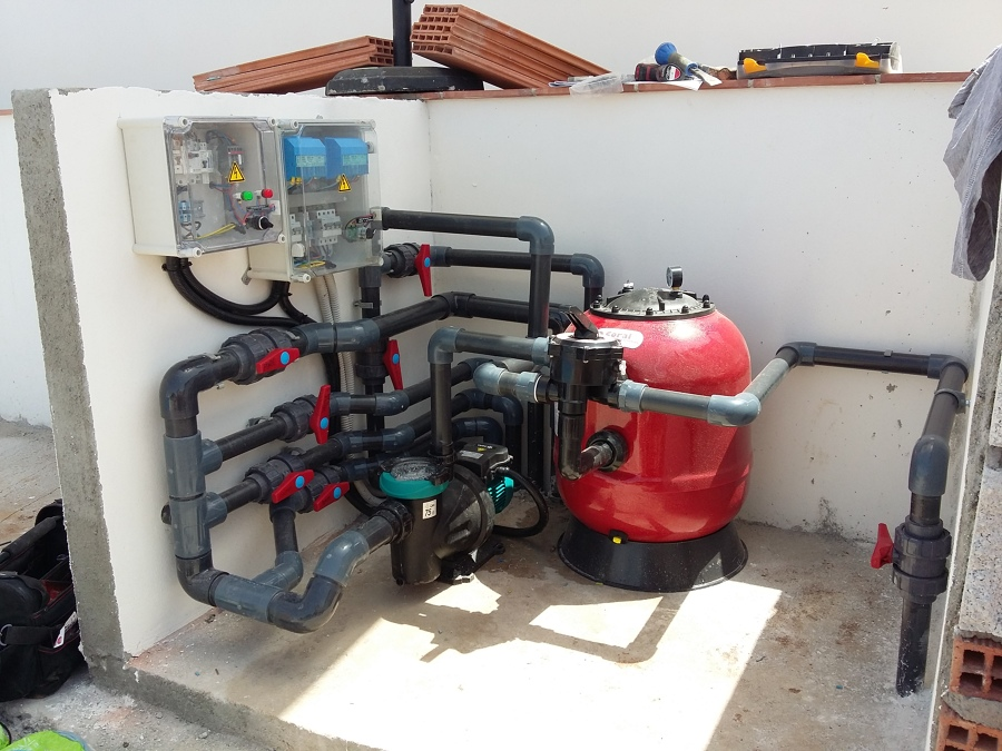 Foto depuradora de piscina de fontaneria pedrosa 1316069 for Depuradora para piscina hinchable