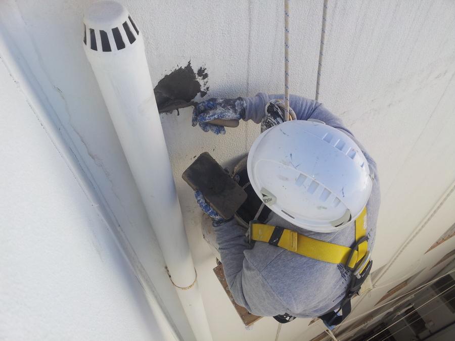 retirada de instalación de aire acondicionado.