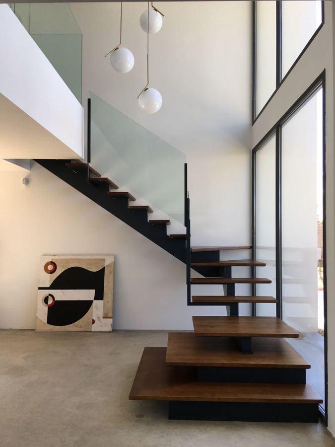 Diseño de escalera en vivienda
