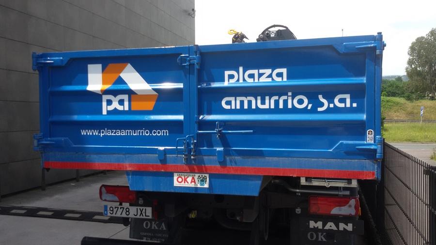 plaza camión