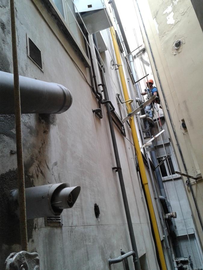 Arreglos internos y cambiar bajantes Barcelona